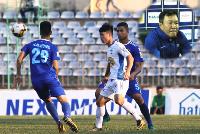 Bị quân bầu Đức 'hạ nhục' trên sân nhà, HLV Quảng Nam FC nói điều không ngờ