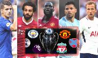 Danh sách Top 4 Ngoại hạng Anh dự cúp C1 2018/19