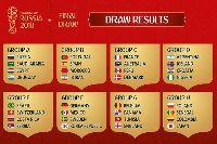 Lịch phát sóng World Cup 2018 trên kênh VTV, K+