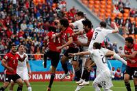 Kết quả Ai Cập 0-1 Uruguay: Cựu vô địch World Cup thắng nhọc Ai Cập không Salah