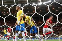 Kết quả bảng E World Cup 2018: Brazil 1-1 Thụy Sĩ