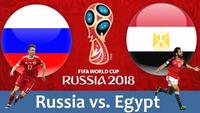 Kết quả World Cup hôm nay: Nga vs Ai Cập