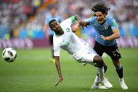 Kết quả bảng A World Cup 2018 lượt 2: Uruguay 1-0 Saudi Arabia