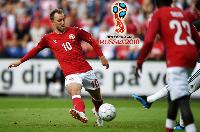 Kết quả World Cup: Đan Mạch 1-1 Úc (lượt trận thứ 2 bảng C)
