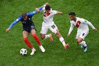 Kết quả bảng C World Cup 2018 lượt 2: Pháp 1-0 Peru