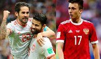 Lịch phát sóng World Cup hôm nay 1/7: Tây Ban Nha vs Nga