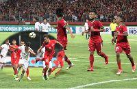 TRỰC TIẾP U19 Indonesia vs U19 Singapore, 19h ngày 3/7