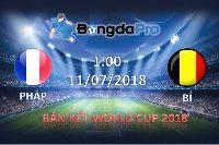 Nhận định bóng đá hôm nay (10/7): Pháp vs Bỉ