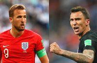 Đội hình Anh vs Croatia: Kane đọ súng Mandzukic