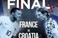 Lịch thi đấu chung kết World Cup 2018: Pháp vs Croatia