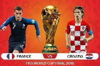 Lịch thi đấu bóng đá hôm nay (15/7): Chung kết Pháp vs Croatia