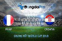 Máy tính dự đoán bóng đá World Cup: Ygeteb nhận định Pháp vs Croatia