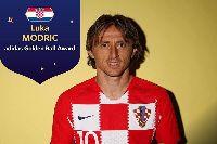 Luka Modric xuất sắc giành Quả bóng vàng World Cup 2018