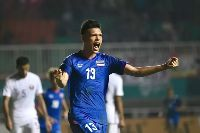 Kết quả ASIAD 2018: U23 Thái Lan vs U23 Bangladesh (KT, 1-1)
