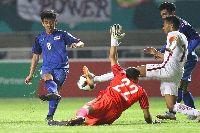 Video bàn thắng U23 Thái Lan vs U23 Uzbekistan (bóng đá nam ASIAD 2018)