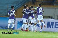 Kết quả Hà Nội FC 10-0 Nagaworld: Oseni lập poker, ĐKVĐ V-League thị uy sức mạnh