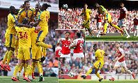 Video xem lại Arsenal 2-3 Crystal Palace (Premier League, Ngoại hạng Anh vòng 35)