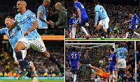 Top bàn thắng đẹp Ngoại hạng Anh vòng 37: Choáng vì Kompany