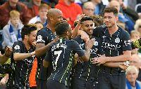 Video xem lại Brighton 1-4 Man City: Man xanh vô địch