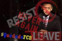 Chủ tịch Barcelona bị cổ động viên biểu tình đòi từ chức