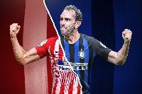 Diego Godin chính thức gia nhập Inter Milan dưới trướng Antonio Conte