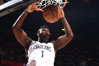 Zion Williamson chấn thương, bỏ lỡ NBA Summer League 2019