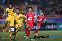 Lịch thi đấu bóng đá hôm nay 16/7: SLNA vs Sài Gòn