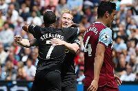 West Ham 0-5 Man City: Sterling ghi hat-trick, ĐKVĐ khởi đầu mỹ mãn