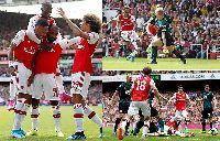 Arsenal 2-1 Burnley: Song sát Aubameyang - Lacazette đưa Pháo thủ lên đỉnh