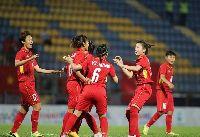 Nữ Việt nam 7-0 nữ Indonesia: Dẫn đầu bảng B