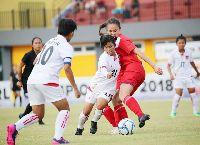 Trực tiếp nữ Campuchia vs nữ Indonesia: Chiến đấu danh dự