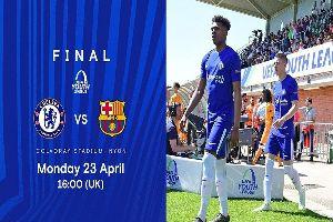 Xem bóng đá trực tuyến U19 Barca vs U19 Chelsea 22h00, 23/04