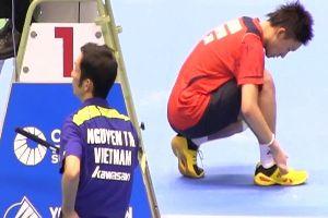 Lịch thi đấu cầu lông vô địch châu Á 2018: Tiến Minh vs Kento Momota