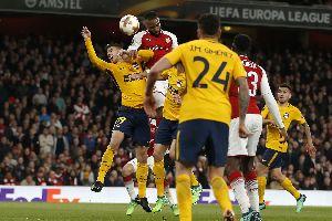 Lịch thi đấu lượt về bán kết Cúp C2 châu Âu 2017/18: Atletico Madrid vs Arsenal