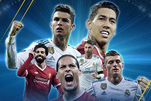 Kênh chiếu chung kết C1 2017/18: Real Madrid vs Liverpool