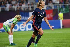 Kết quả Nữ Wolfsburg 1-4 Nữ Lyon: Nữ Lyon vô địch Cúp C1 nữ châu Âu 2017/18