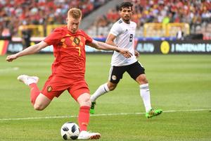 Xem lại video bàn thắng Bỉ vs Ai Cập: Đẳng cấp ngôi sao