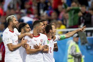 Kết quả bóng đá hôm nay (23/6): Serbia 1-2 Thụy Sĩ
