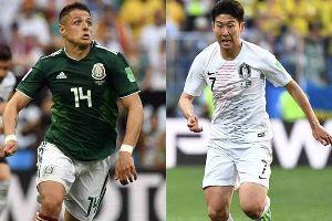 Xem bóng đá trực tuyến World Cup: Hàn Quốc vs Mexico