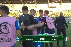 Kết quả bóng đá hôm nay (17/7): U19 Phần Lan 0-1 U19 Italia