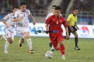Xem lại U23 Thái Lan vs U23 Uzbekistan
