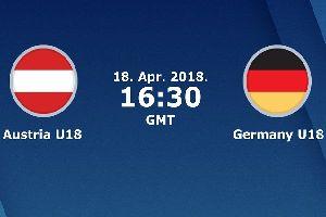 Nhận định U18 Áo vs U18 Đức, 0h ngày 18/4 (giao hữu U18 ĐTQG)