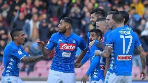 TRỰC TIẾP Frosinone vs Napoli, 17h30 ngày 28/4