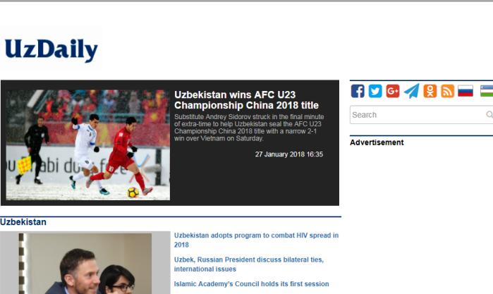 Truyền thông Uzbekistan nói gì về chiến thắng trước U23 Việt Nam?