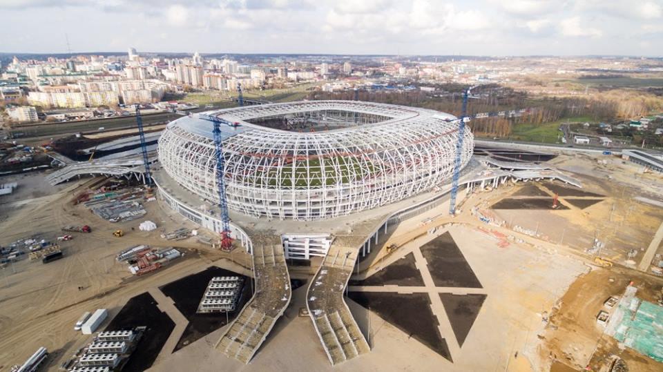 Những sân vận động diễn ra World Cup 2018