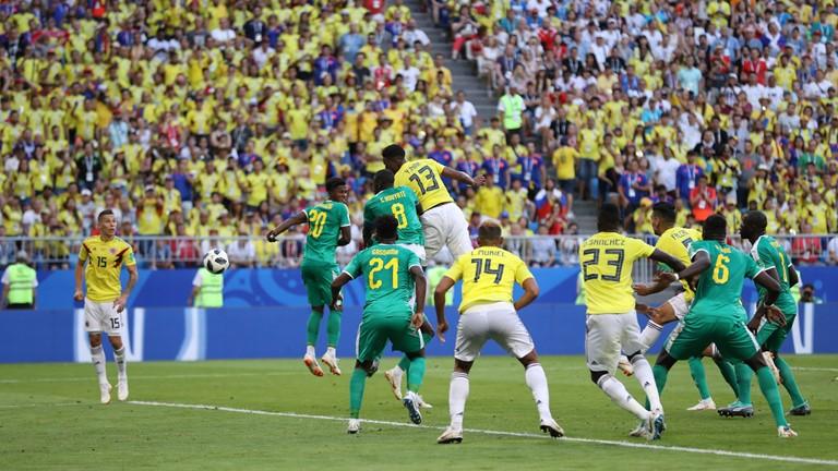 Tường thuật Senegal vs Colombia: 0-1, hết giờ