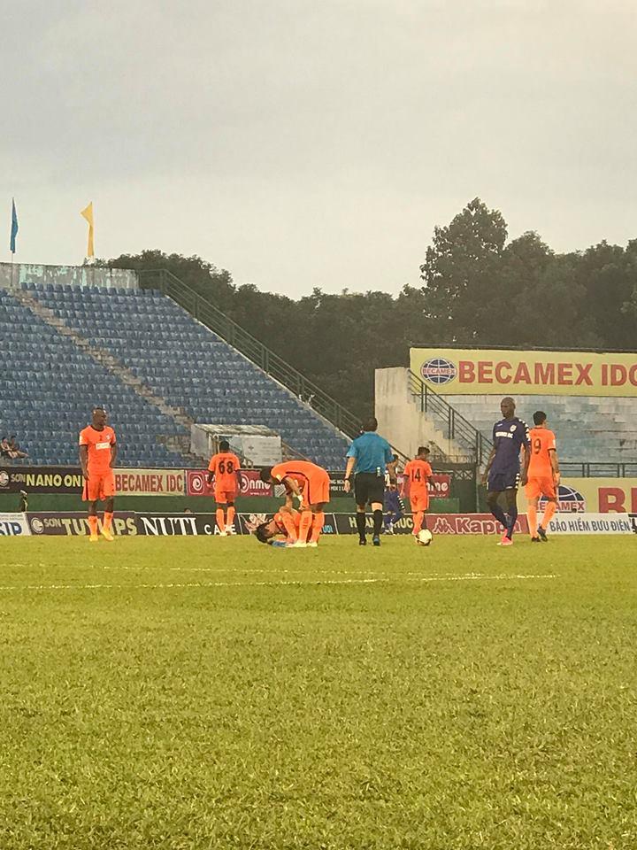 Kết quả B.Bình Dương vs SHB Đà Nẵng, (FT: 4-1): Cơn mưa bàn thắng