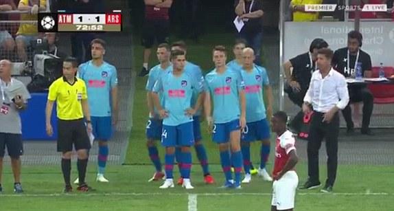 Kết quả Atletico Madrid vs Arsenal (1-1; pen: 3-1): Pháo thủ nhận trái đắng trên chấm 11m