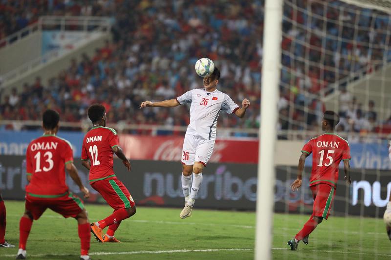 Kết quả U23 Việt Nam vs U23 Oman (FT 1-0): Siêu phẩm của Đoàn Văn Hậu