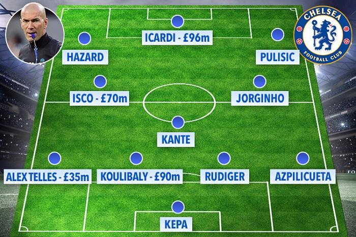 Zidane đã chấp nhận tới Chelsea để phục hưng?